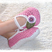 Plain Janes II, Slippers for Girls or Boys Size 0 to 7/8 pattern