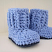 High Country Baby Booties pattern