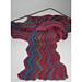 zigzag scarf pattern