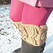 Cabled Boot Cuffs pattern
