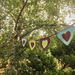 Heart Shaped Bunting pattern