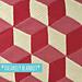 Vasarely Blanket pattern