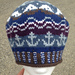 Anchors Aweigh! Hat pattern