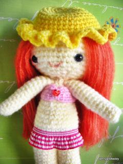 Crochet Amigurumi Girl Doll Pattern and Tutorial - YouTube | 320x240
