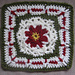 """Back-To-School FALL 9"""" and 12"""" Afghan Block Square pattern"""