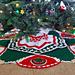Tannenbaum Tree Skirt Design pattern