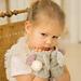 Bunny April Wrist Warmers pattern