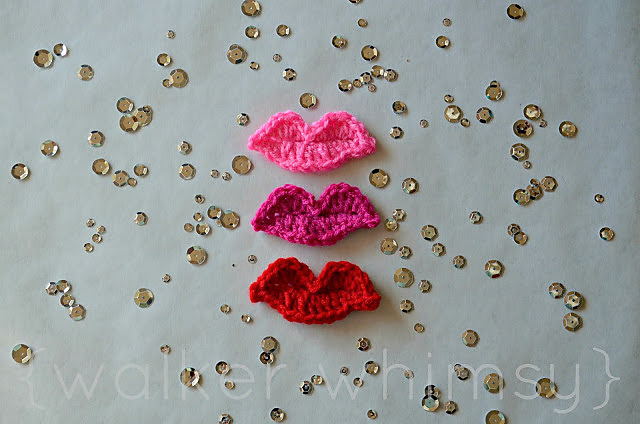 Amigurumi Knitting AMIGURUMI LIP PROCESSING (amigurumi lips ... | 424x640