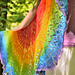 Soft Rainbow Shawl pattern