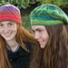 Eyelet Swirl Hats pattern