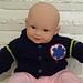 Paramedic Baby Sweater pattern