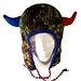 Horned Football Earflap Hat pattern