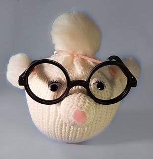 Crochet Elephant Eyeglass Holder Amigurumi Free Pattern - #Crochet ... | 320x308