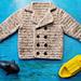 Toddler Pea Coat pattern