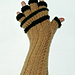 Libra Glamour Half Finger Gloves / Open Mitts pattern