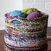 Scrap Yarn Basket pattern