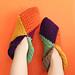 Harlequin Slippers pattern