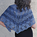 Blue Jeans and Moon Beams Shawl pattern