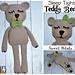 Sleep Tight Teddy Bear pattern