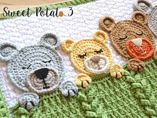 Teddy Bear Blanket Pattern - Evelyn And Peter Crochet | 240x320