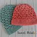 Floral Embrace Slouch Hat pattern