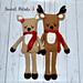 Rudy & Ruby the Reindeer pattern