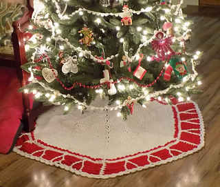Christmas Tree Skirt Patterns.O Christmas Tree Skirt Pattern By Sweet Potato 3