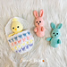 Easter Egg Pocket Bunny Chick pattern