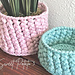 Woven Basket & Pot Cover pattern