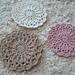 Florists' daisy doily pattern