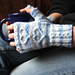 With Love... fingerless mittens pattern