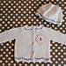 Petit Nuage (Cashmere Cardigan and Baby Beanie) pattern