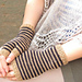 striped mitts pattern