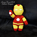 Iron Man Plush Doll pattern