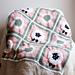 Sheep Granny Square Blanket pattern