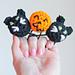 Halloween Ponytail Holders pattern