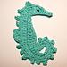 Crochet Sea Horse pattern