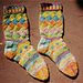 Entrelac Socks pattern