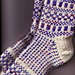 Checkers and Squares Fair Isle Socks pattern