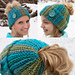 Ribbed Bun Hat pattern