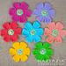 Simple Tunisian Flower pattern