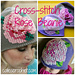 Cross-stitch Rose Beanie pattern
