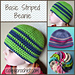Basic Striped Beanie pattern