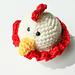 Mini Chicken Stuffie pattern