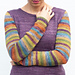 Worsted Sock Arms pattern