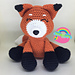 Ruby the Red Fox pattern