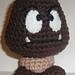 Goomba - Super Mario Brothers (Nintendo) pattern
