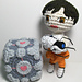 Portal 2 Amigurumi Playset (includes Chell, Portal device and Weighted Companion Cube) pattern