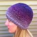 Purple Rain Hat pattern