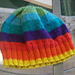 Bright Colors Baby Hat pattern